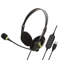 USB Noise Cancelling Headset with Microphone - Shop For Gamers