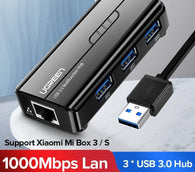 USB Ethernet USB 3.0 2.0 to RJ45 HUB Xiaomi USB to Ethernet Adaptor - Shop For Gamers