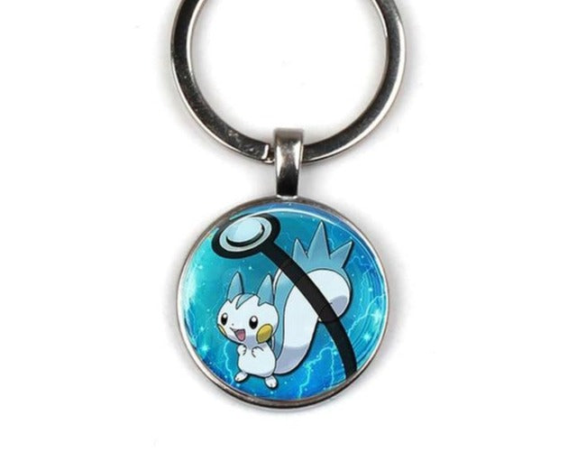 Umbrella Creative Pokeball Chaveiro Keychain