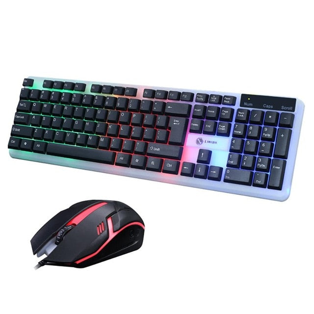 VOBERRY Ergonomic Keyboard Mouse Combo - Shop For Gamers