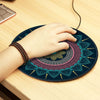 Vintage Bohemian Round 3D Carpet Mouse Pad - Shop For Gamers