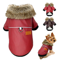 Waterproof Dog Clothes Leather Coat - Shop For Gamers