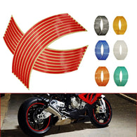 Bike Reflective Rim Stripe Tape - Shop For Gamers