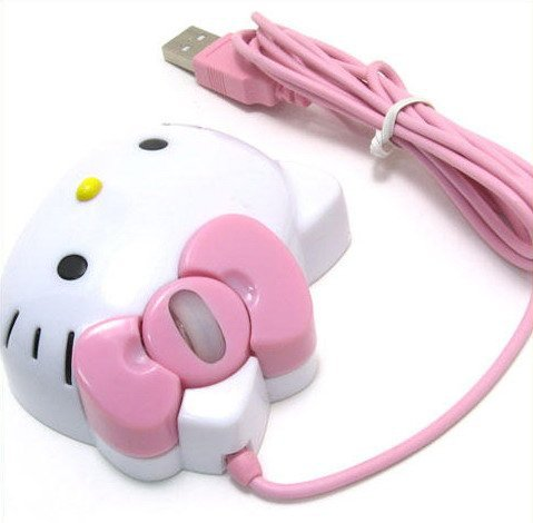 Hello Kitty USB Mouse - Shop For Gamers