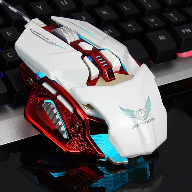 DPI 4000 Wired 6 Buttons Gaming Mouse - Shop For Gamers