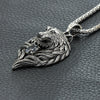 Classic Wolf Head Necklace - Shop For Gamers