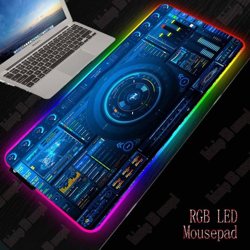DJ Controller RGB Gaming Large Mouse Pad - Shop For Gamers