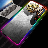 2020 Dragon Ball Anime Large RGB Mouse Pad - Shop For Gamers