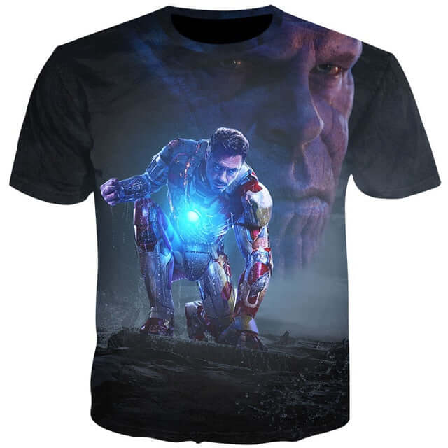 3D Print Thanos Character T-Shirt - Shop For Gamers