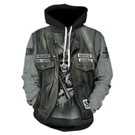 YXYM 2019 Skull Head Men Hoodies - Shop For Gamers
