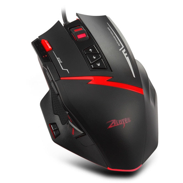 Zelotes C15 7000 DPI Gaming Mouse - Shop For Gamers
