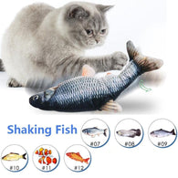 Cats Electric Fish Toy - Shop For Gamers