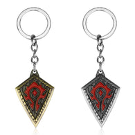 World of WarCraft WOW Horde Logo Key Chain