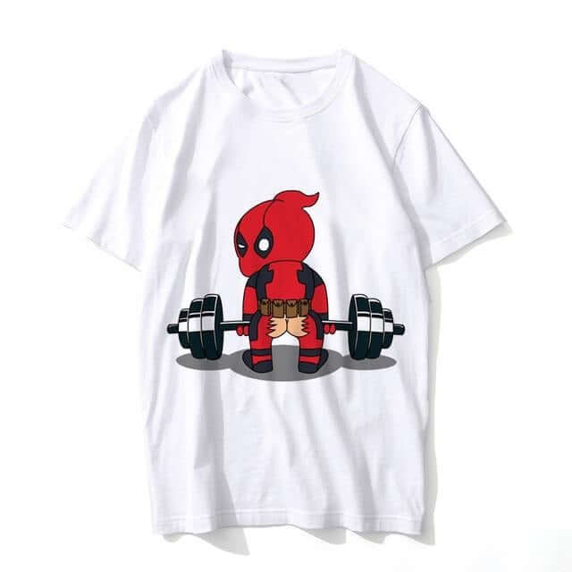 Deadpool T-Shirt Printed - Shop For Gamers