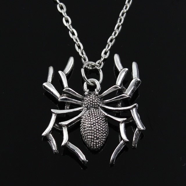 Spider Halloween Necklace - Shop For Gamers