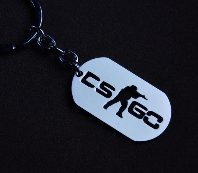 CSGO Key Chains Stainless Steel - Shop For Gamers