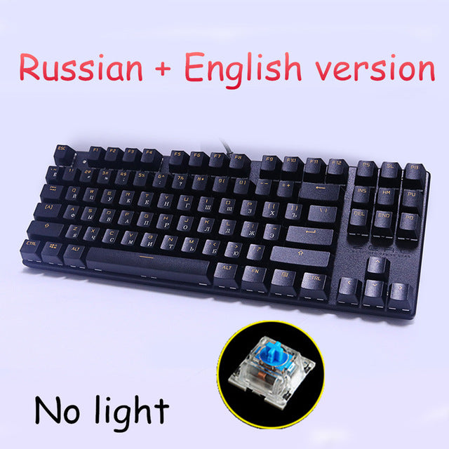 Metoo Backlit Genuine Mechanical Keyboard - Shop For Gamers