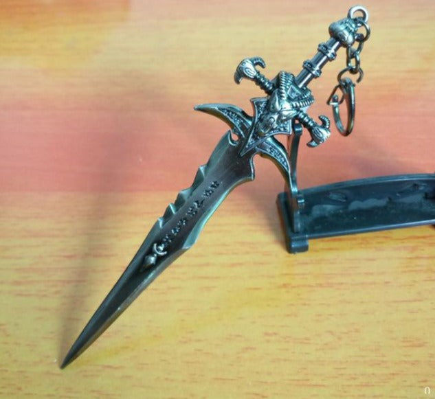 Frostmourne Sword Keychain - Shop For Gamers