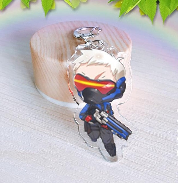 Overwatch Acrylic Cosplay keychains - Shop For Gamers