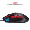 HXSJ 6000DPI Optical Macros Backlit Gaming Mouse - Shop For Gamers