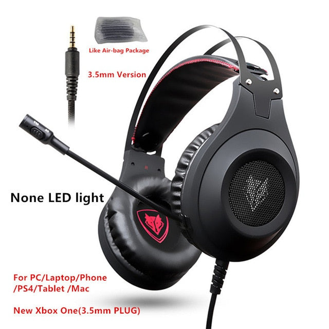 Xiberia Nubwo N2 3.5mm Gaming Headset Bass Casque - Shop For Gamers
