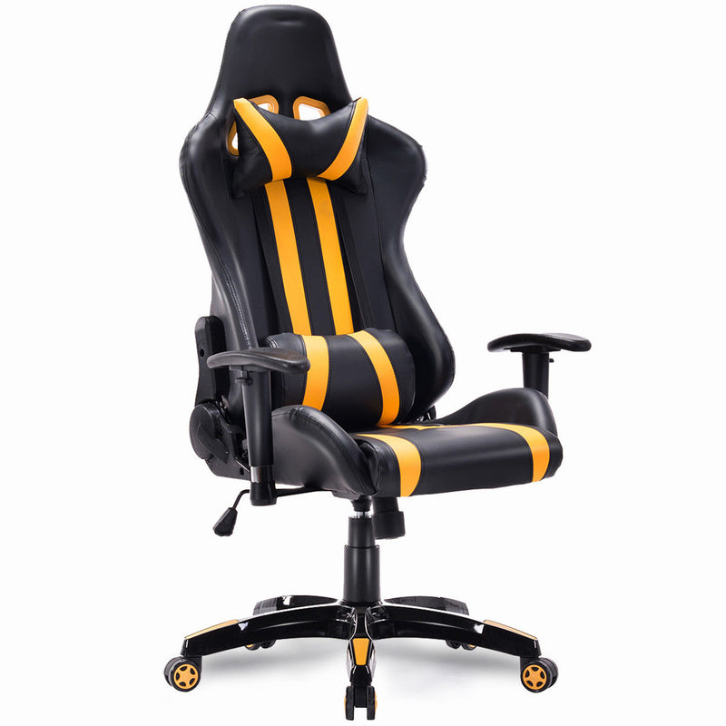 HW55211YE High Back Executive Racing Style Gaming Chair - Shop For Gamers