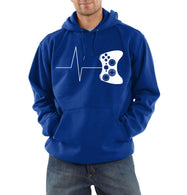 The Heartbeat Of A Gamer Hoodie - Shop For Gamers