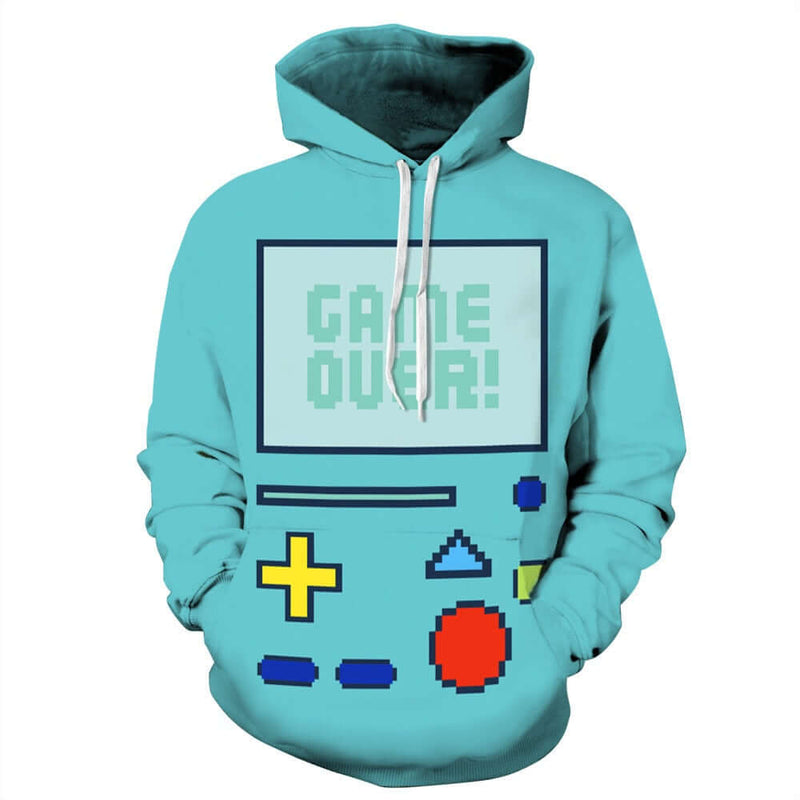 Retro Video Game 3d Print Hoodie H003 - Shop For Gamers