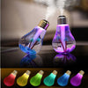 USB 7 Colors Night Light Air Ultrasonic Humidifier Oil Essential