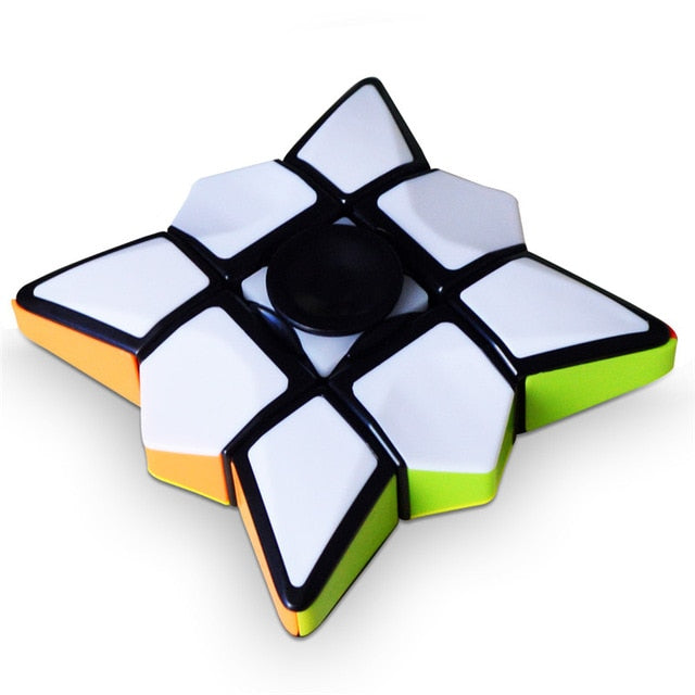 Creative 1x3x3 Magic Cube Fidget Spinner - Shop For Gamers