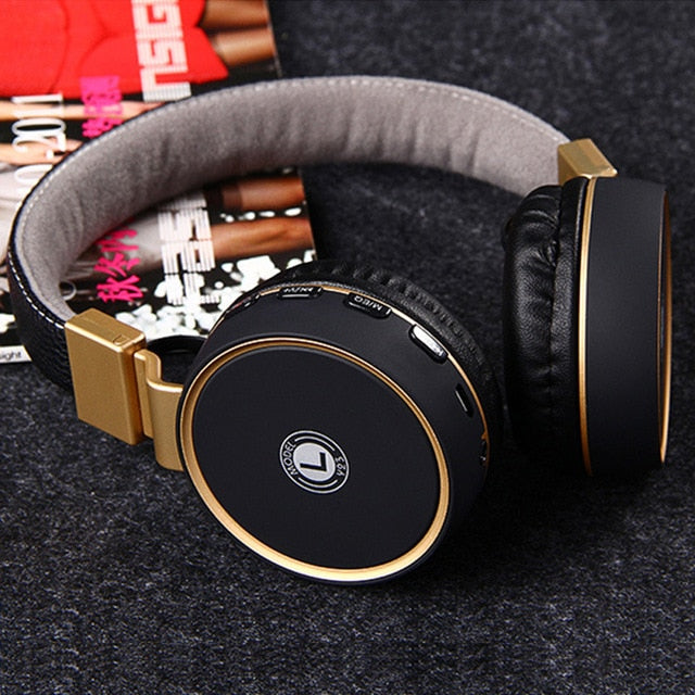 Headphones Microphone Stereo Wireless Headset Bluetooth4.1 - Shop For Gamers