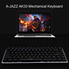 AJAZZ AK33 Computer PC Mechanical Keyboard backlight Keyboard USB +GTX 4000DPI 7 Buttons LED Mouse - Shop For Gamers
