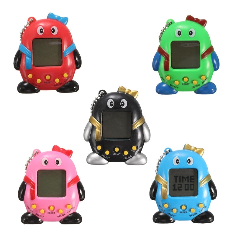Novelty 168Pets 90S Nostalgic Virtual Pet Toy Handheld Game Machine - Shop For Gamers