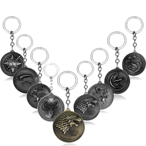 Game of Thrones Keychain - Shop For Gamers