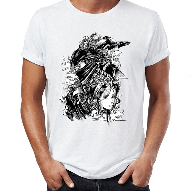 Bloodborne Hunter Lady Maria T-Shirt - Shop For Gamers
