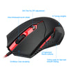 Redragon USB Gaming Membrane RGB Keyboard pad earphone combos 104 keys 3200 DPI 5 buttons Mice Set - Shop For Gamers