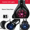 NUOXI N1 Best Casque Deep Bass Game Earphone Headset with Mic LED Light - Shop For Gamers