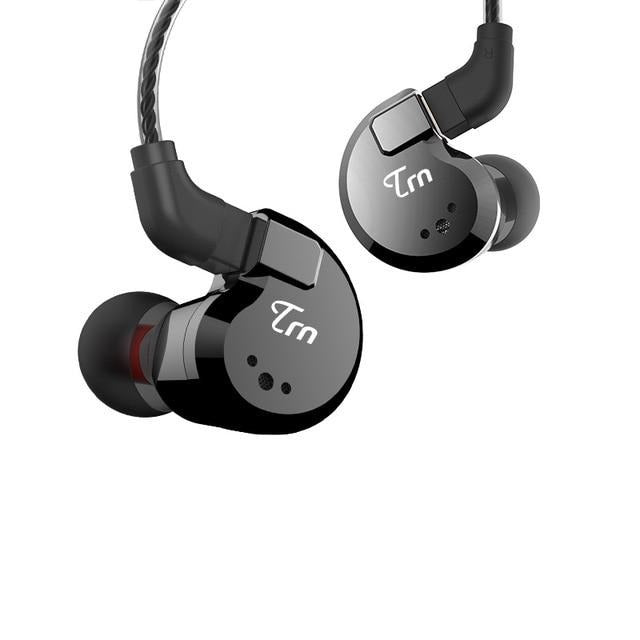 TRN V80 2DD+2BA Hybrid In-Ear Earphone