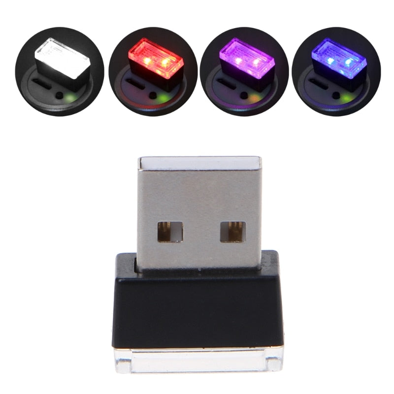 USB Gadgets Light Decorative Lamp Emergency Lighting PC Portable Plug Car USB Light Office - Shop For Gamers