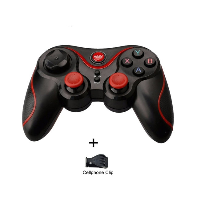 T3 X3 Wireless Joystick Bluetooth 3.0 Gamepad Gaming Controller - Shop For Gamers
