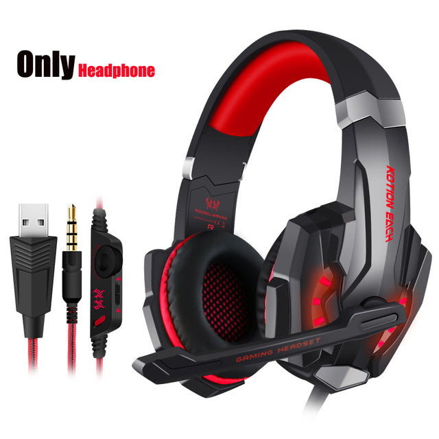KOTION EACH G9000 Gaming Headset With Microphone Mic casque - Shop For Gamers