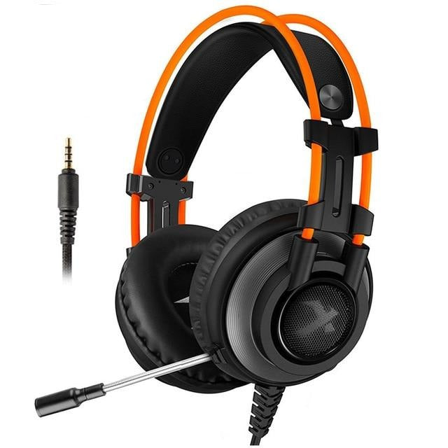 Xiberia K9 PRO PC Headset Gaming Headphones with Microphone LED Light Bass Casques