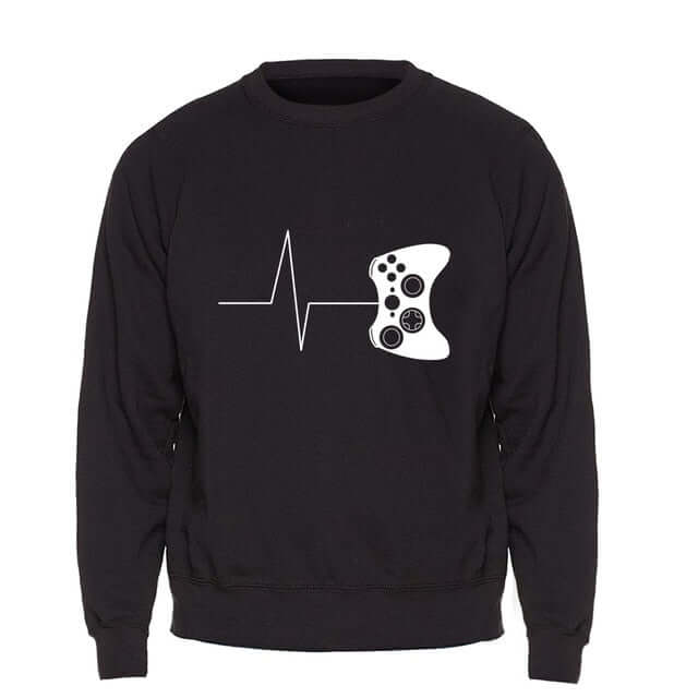 Heartbeat Of Game Gaming Hoodie - Shop For Gamers