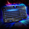 Wired Mechanical Sense Backlit Tricolor luminescent Keyboard M200 Internet Cafe Gaming Keyboard