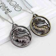 Mortal Kombat Dragon Necklaces - Shop For Gamers