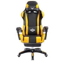 0012 Footrest Lifted Rotated E-sports Gaming Chair - Shop For Gamers
