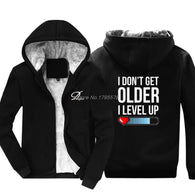I Don't Get Older I Level Up Hoodie - Shop For Gamers