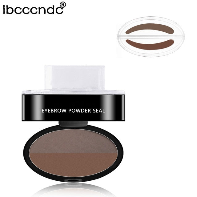2 Color Natural Eyebrow Powder Seal - Shop For Gamers