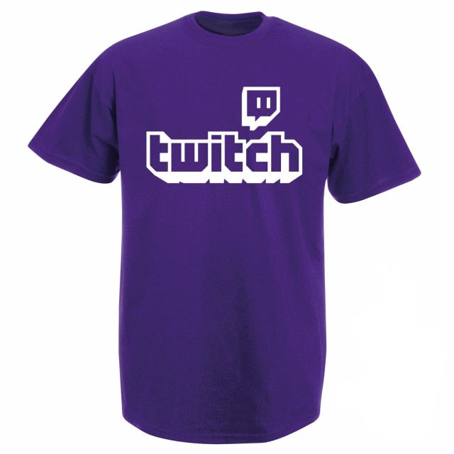 Twitch TV T-shirt - Shop For Gamers