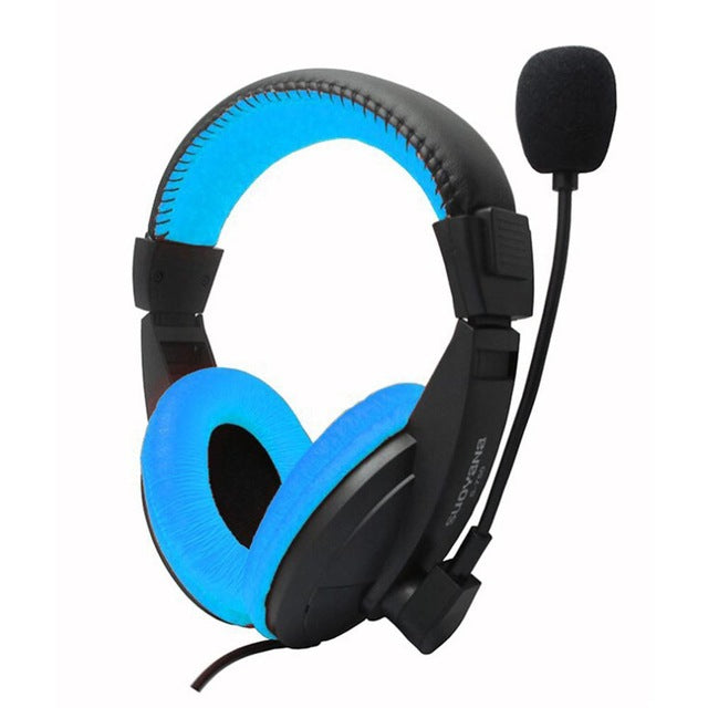 S-750 Multicolor 3.5MM Stereo Gaming Headphone Deep Bass With Microphone - Shop For Gamers